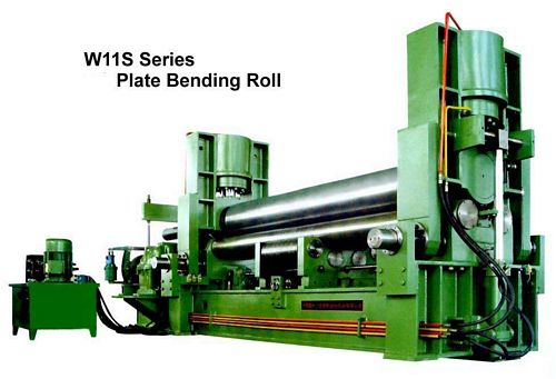 China W11S-11x1500 Plate Bending Roll